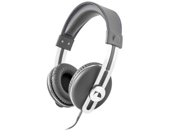 75% off Nakamichi Over the Ear Headphones (Model NK 2030 Gray)
