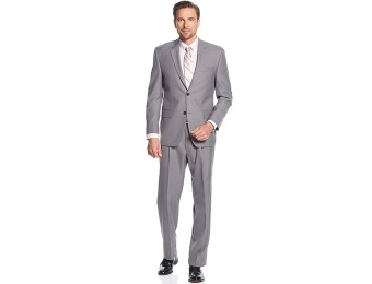 $280 off IZOD Grey Sharkskin Men's Suit