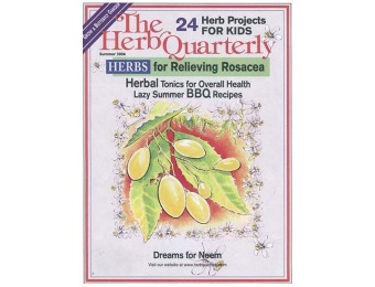 50% off Herb Quarterly Magazine, $11.99 / 4 Issues