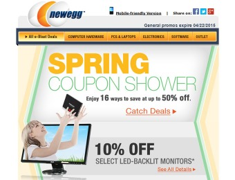 Newegg Coupon Deals - Up to 50% off