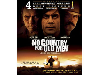 60% off No Country For Old Men on Blu-ray