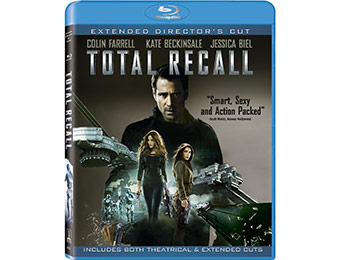 50% off Total Recall (Blu-ray + UltraViolet Digital Copy)