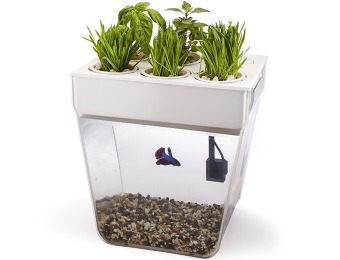 43% off Back to the Roots AquaFarm Fish Tank & Water Garden