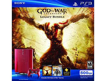 $70 off God of War: Ascension Legacy Bundle (PS3)