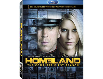 71% off Homeland: Complete First Season on Blu-ray (3 Discs)