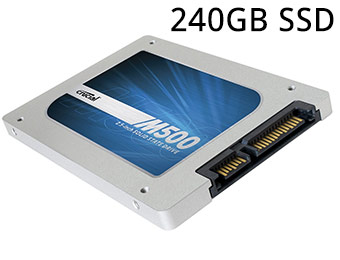 $41.50 off Crucial M500 240GB SSD after promo code EMCYTZT3329