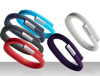 $80 off Jawbone UP Fitness Activity Trackers, Multiple Sizes & Colors