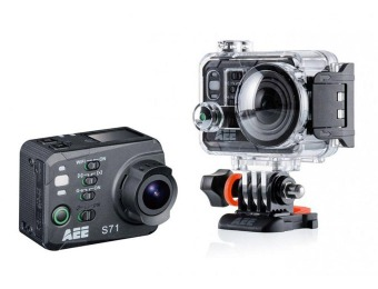 $171 off AEE S71 Ultra HD 4K Action Camera with Underwater Case