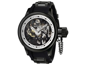 90% off Invicta 1091 Russian Diver Mechanical Skeleton Watch