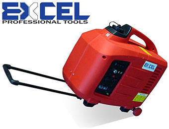 62% off Excel 2800W Digital Compact Portable Power Generator