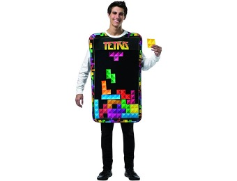 91% off Adult Tetris Movable Pieces Tunic Costume