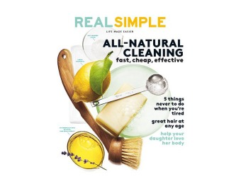 $48 off Real Simple Magazine Subscription, $12 / 12 Issues