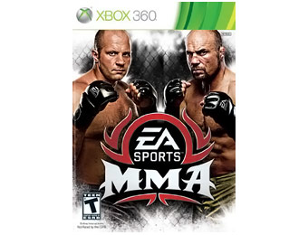50% off EA Sports MMA Xbox 360 Video Game