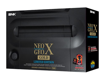 $100 off NEOGEO X Gold Limited Edition Video Game Console