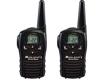 33% off Midland GX12 GMRS Two-Way Radios