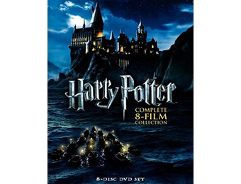 65% off Harry Potter: Complete 8-Film Collection DVD (8 Discs)