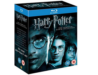 Harry Potter: Complete 8-Film Collection Blu-ray (Region-Free)