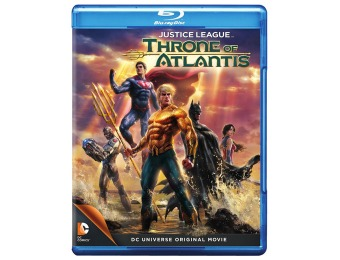 $15 off Justice League: Throne of Atlantis (Blu-ray + DVD)