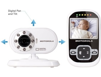 $91 off Motorola MBP25 2.4 GHz Wireless Video Baby Monitor