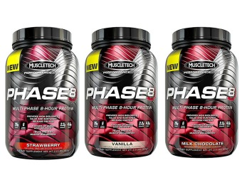Buy 1 get 1 Free: MuscleTech Phase 8 Protein Powder