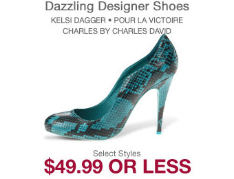 Deal: Designer Women's Shoes $50 or Less
