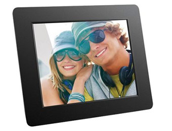 "Extra 25% off Aluratek 8"" Digital Photo Frame"