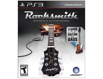 58% off Rocksmith Guitar and Bass Playstation 3 Game