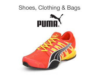 Up to 85% off Puma Shoes, Clothing & Bags