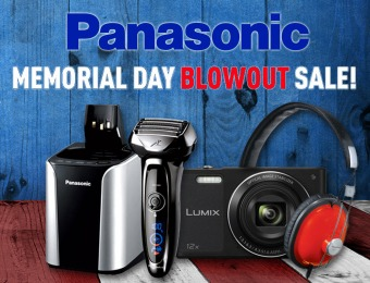 Panasonic Memorial Day Blowout Sale - Cameras, HDTVs, Appliances