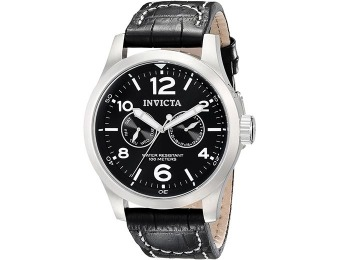86% off Invicta 0764 II Collection Swiss Leather Watch
