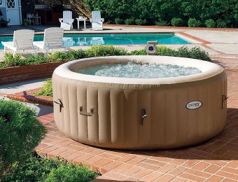55% off Intex 4-Person 120 Jet Inflatable Spa / Hot Tub
