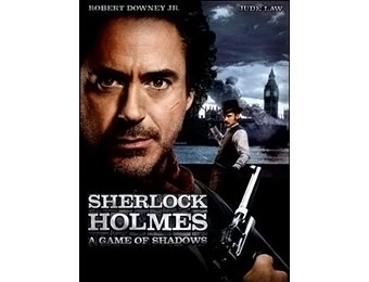 70% off Sherlock Holmes: Game Of Shadows DVD