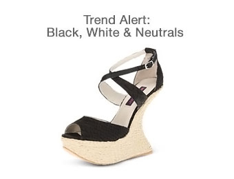 Up to 83% off Black, White & Neutral Women's Fashions