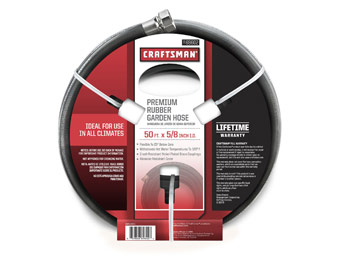 43% off Craftsman Premium 5/8 In. x 50 Ft. Rubber Garden Hose