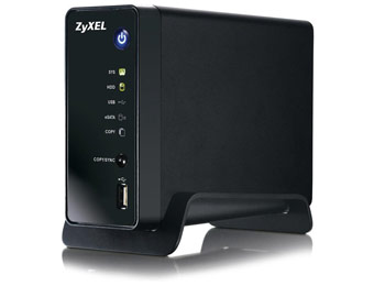 46% off ZyXEL NSA310 1-bay Network Storage and Media Server