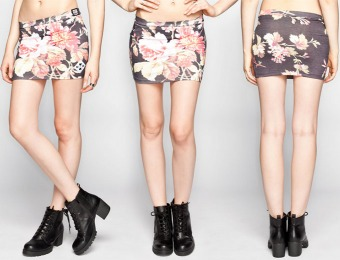 92% off NEFF Disney Collection Floral Skirt