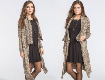86% off Lira Ebony Women's Duster Cardigan