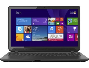 $137 off Toshiba Satellite C55DT-B5128 Touch Laptop Bundle