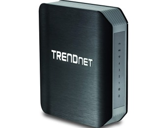 $124 off TRENDnet AC1750 Dual Band Wireless Gigabit Router