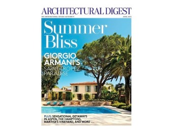 92% off Architectural Digest Magazine, $4.99 / 12 Issues