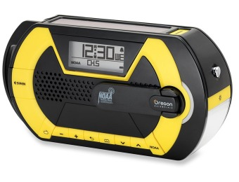 $91 off Oregon Scientific WR203 Advanced Emergency Radio