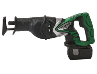 35% off Hitachi CR18DL 18-Volt Li-Ion Reciprocating Saw Kit