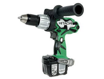 48% off Hitachi DV14DL 14.4V Lithium Ion Cordless Hammer Drill