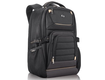 63% off Solo Pro PRO742 Laptop Backpack, Black, 17.3""