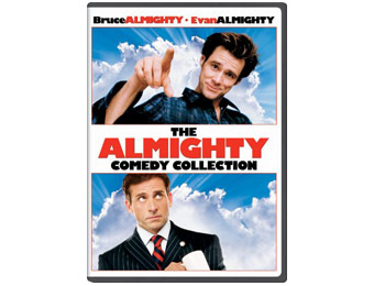 53% off Bruce Almighty & Evan Almighty DVD Collection