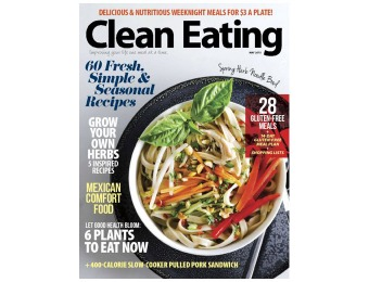 $21 off Clean Eating Magazine Subscription, $14.99 / 9 Issues