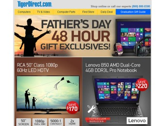 Tiger Direct Father's Day Sale - Tons of Hot Deals