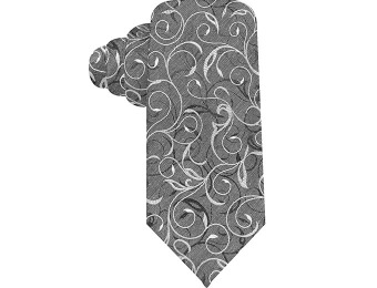 90% off Alfani Spectrum Central Vine Slim Tie