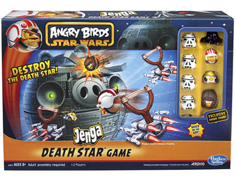 57% off Hasbro Angry Birds Star Wars Jenga Death Star Game