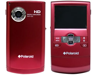 75% off Polaroid DVF-720 32MB HD Flash Memory Camcorder